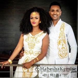 Everlasting Fiker Ethiopian Traditional Dress Wedding-30