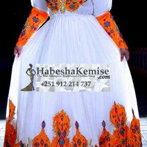 Exquisite Birtukan Ethiopian Traditional Clothes-88