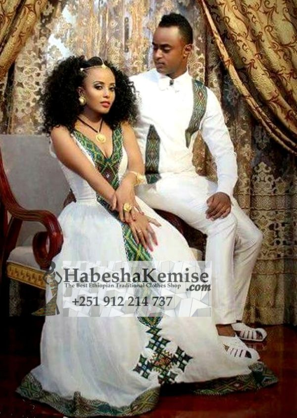 Fevens Glamour Traditional Ethiopian Wedding Clothes-57