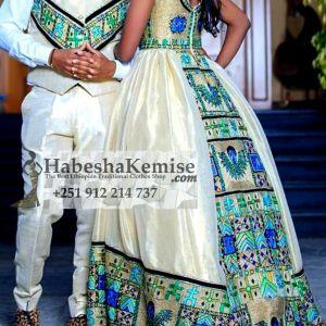 Hager ena Fiker Ethiopian Traditional Dress Wedding-33