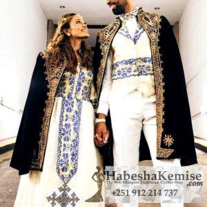 Hiwotachen Ethiopian Traditional Dress Wedding-45