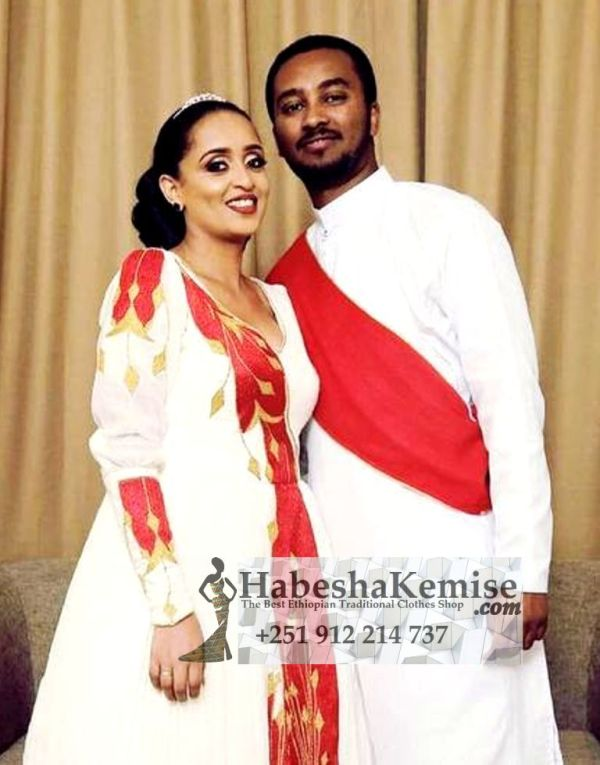 Jegna Fiker Ethiopian Traditional Dress Wedding-18