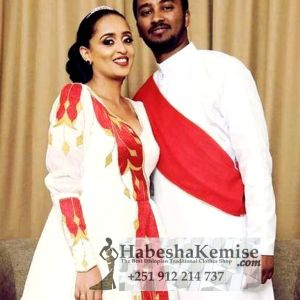 Jegna Fiker Ethiopian Traditional Dress Wedding-18
