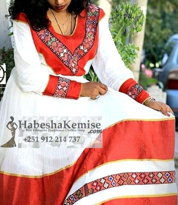 Key Konjo Ethiopian Traditional Clothes-49