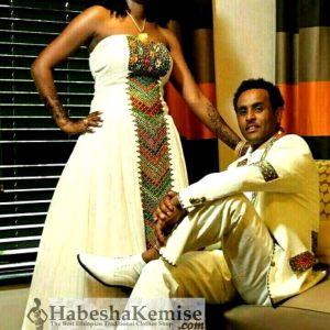 Korawbat Traditional Ethiopian Wedding Clothes-63