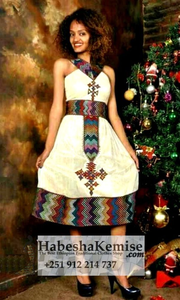 Life is Fun Ethiopian Traditional Clothes-100