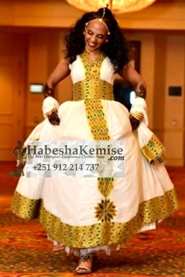 Love My Life Ethiopian Traditional Clothes-75