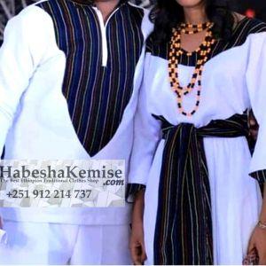 Nafkot Ethiopian Traditional Dress Wedding-38