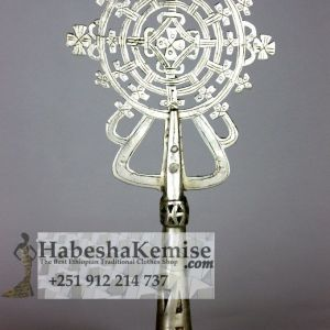 Pure Silver Cross Meskel Ethiopian House Decor-17