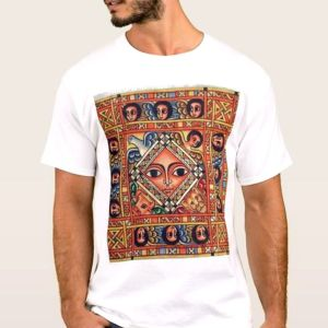 Religious Expression T-Shirt Ethiopian Traditional Dress Mens-24