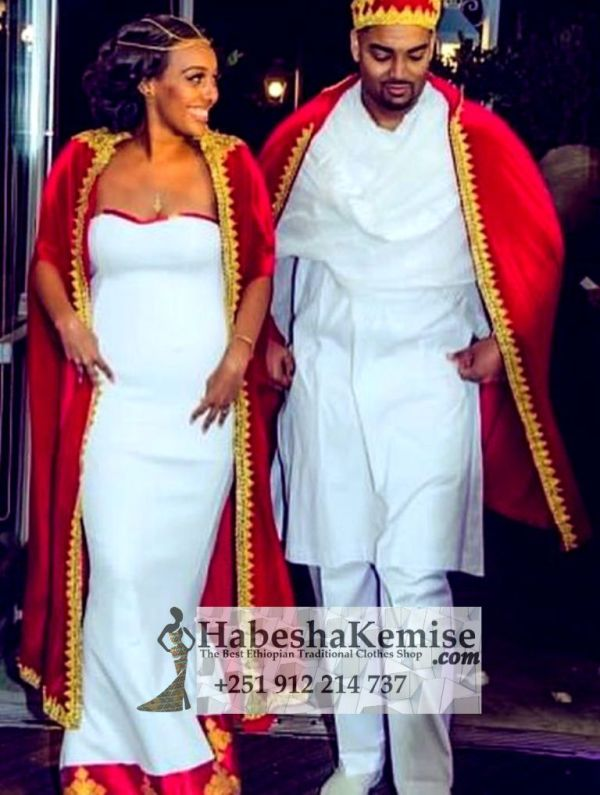 Samrys Perfection Traditional Ethiopian Wedding Clothes-58
