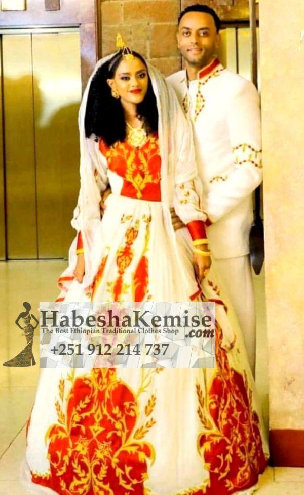 Tizita Ethiopian Traditional Dress Wedding-48