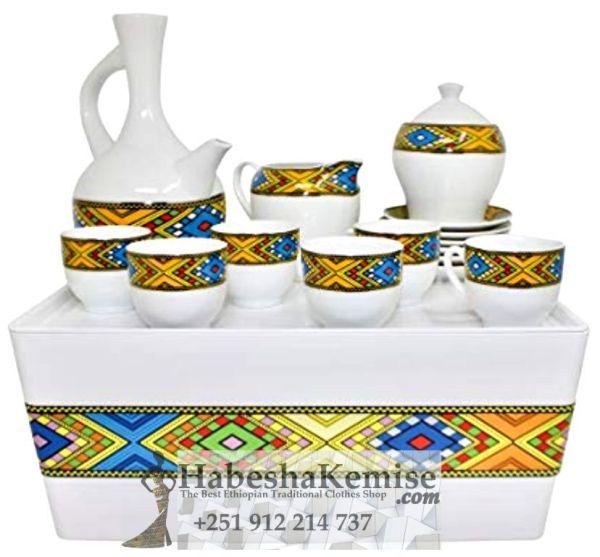 Traditional Coffee Set Ethiopian House Decor-10