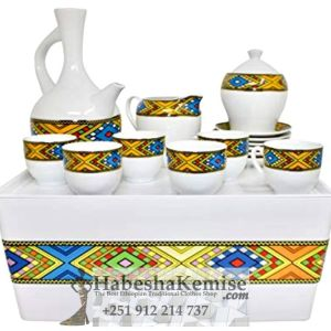Traditional Coffee Set Ethiopian House Decor-10
