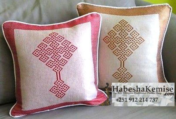 Traditional Ethiopian Meskel Pillow Household Decor-4