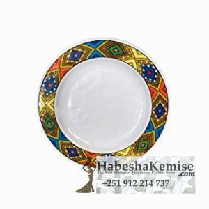 Traditional Ethiopian Tibeb Plate Household Decor-3