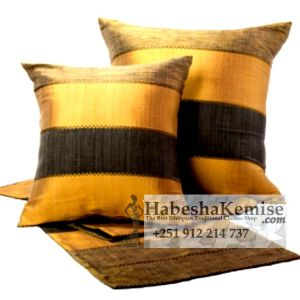 Traditional Tibeb Pillow Set Ethiopian House Decor-22