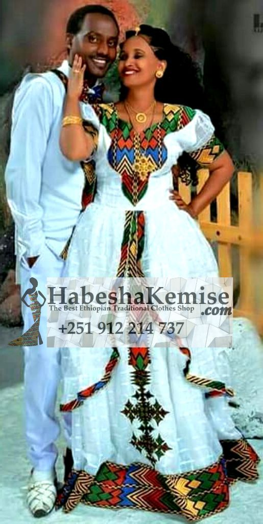 Wededkuat Traditional Ethiopian Wedding Clothes-50