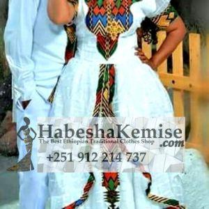 Wededkuat Traditional Ethiopian Wedding Clothes-50