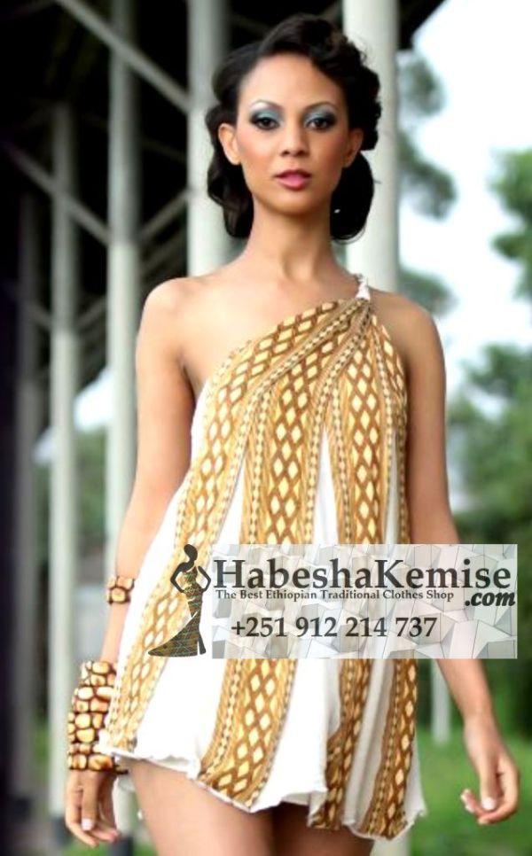 Werkenesh Ethiopian Traditional Dress-45