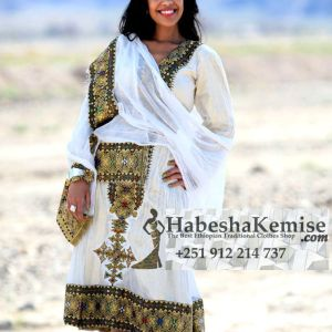 Workenesh Ethiopian Traditional Dress-16
