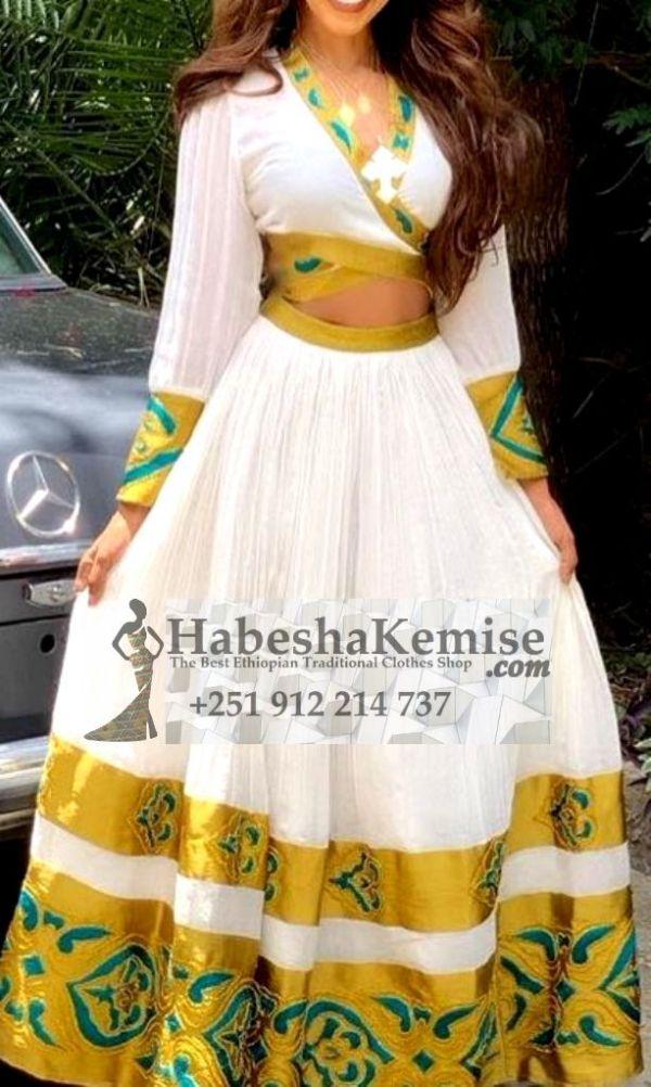 Wub Abeba Ethiopian Traditional Clothes-73