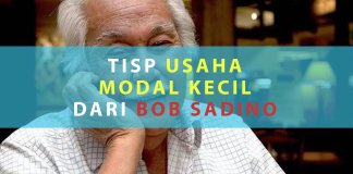 Tips Usaha Modal Kecil dari Bob Sadino