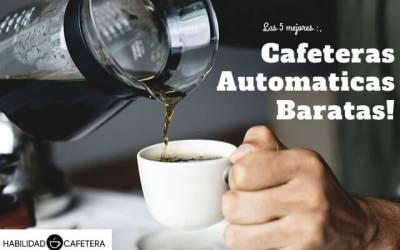 Las 5 mejores cafeteras superautomáticas baratas del 2019
