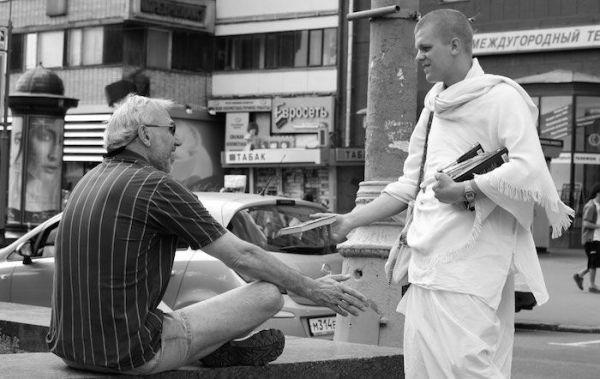 La generosidad de los Hare Krishna