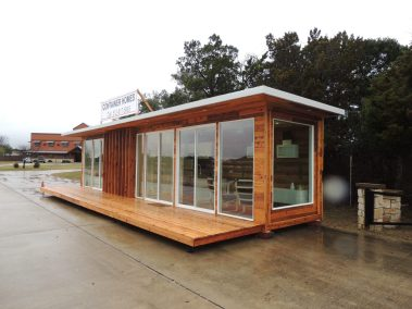 Container Home Finish