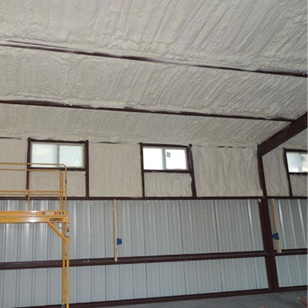 Austin Area Home & Business Owners – is Spray Foam Insulation the Solution for Your Metal Building?