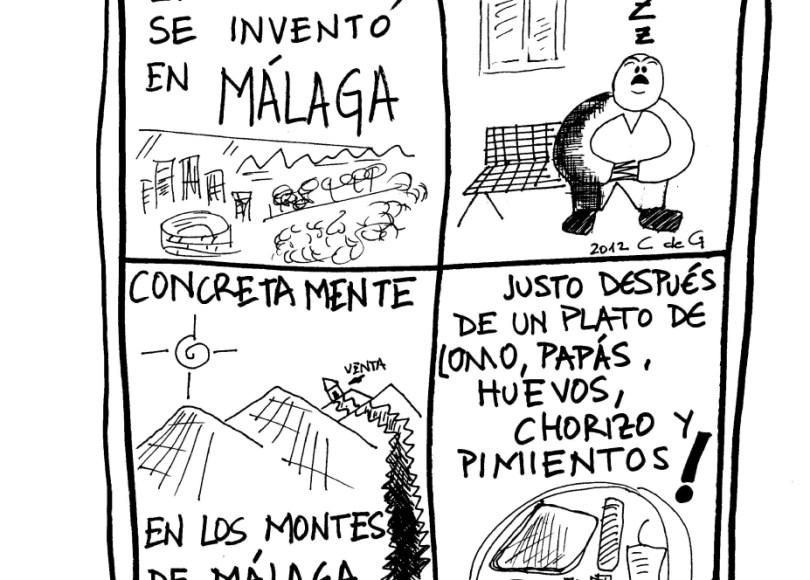 La Siesta se inventó en Málaga