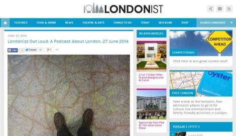 Entrevista a David Mantero en Londonist.com