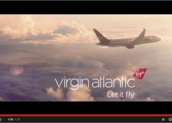 Video Virgin Atlantic Let it Fly 2015