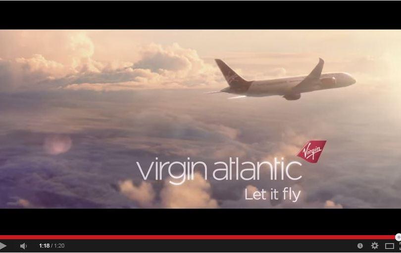 Video Virgin Atlantic Let it Fly 2015