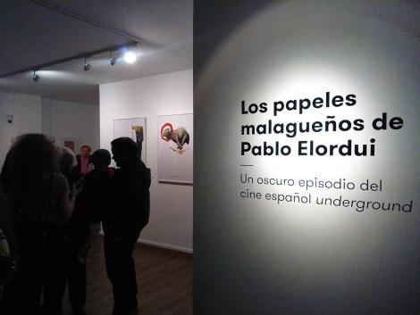 Inauguración de la Exposición de Pablo Elordui