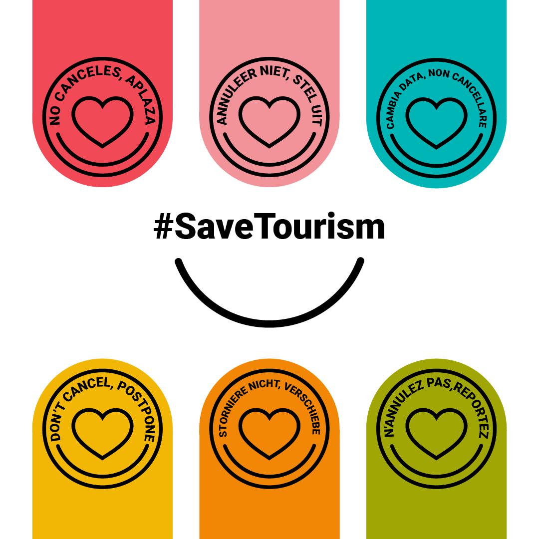 No Canceles aplaza. Save Tourism