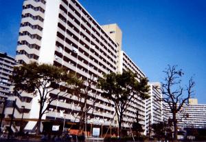 Appartement en manshon (béton armé) - Crédit Reneonnie