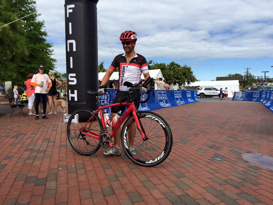 Jose Bermudez completes the 2015 RAAM Challenge