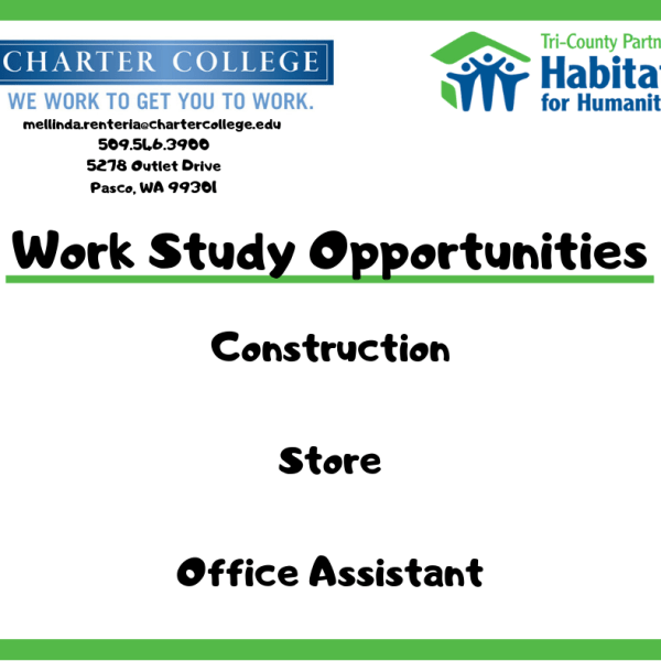 Charter College Work Study Opportunities