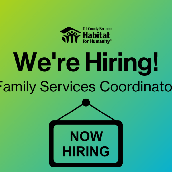 Job Posting - Family Services Coordinator