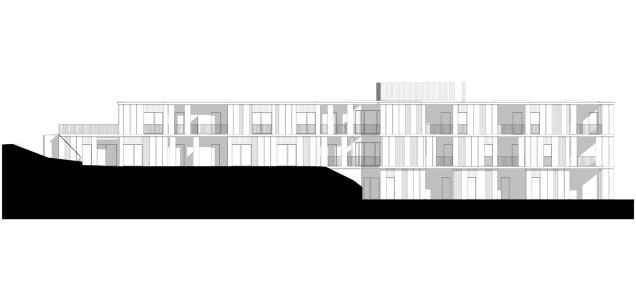 façana oest