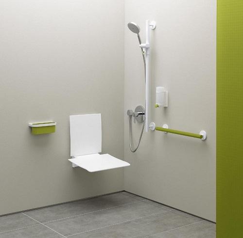 salle de bains pour un senior