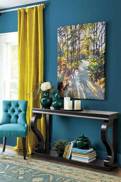bleu canard 40 inspirations pour