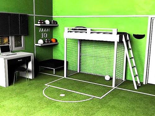chambre d enfant football