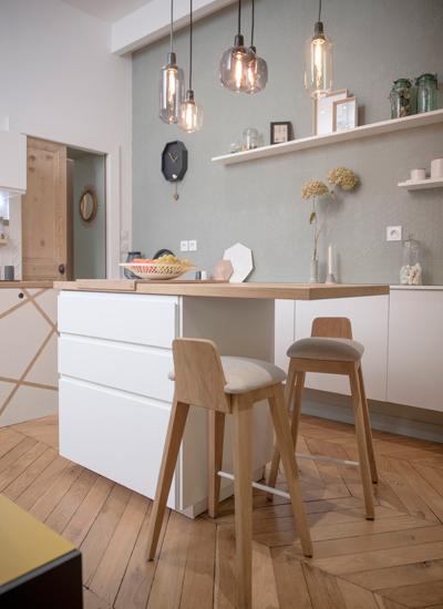 cuisine blanche quelle couleur choisir pour les murs