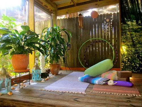 5 idees pour amenager un coin yoga chez soi