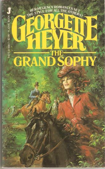 This one's from Jove, and at least we have Equestrienne Sophy, though it's still not really right.