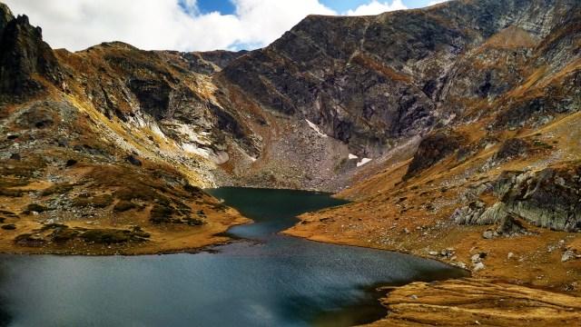 sete lagos rila montanha