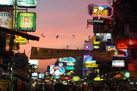 onde ficar bangkok